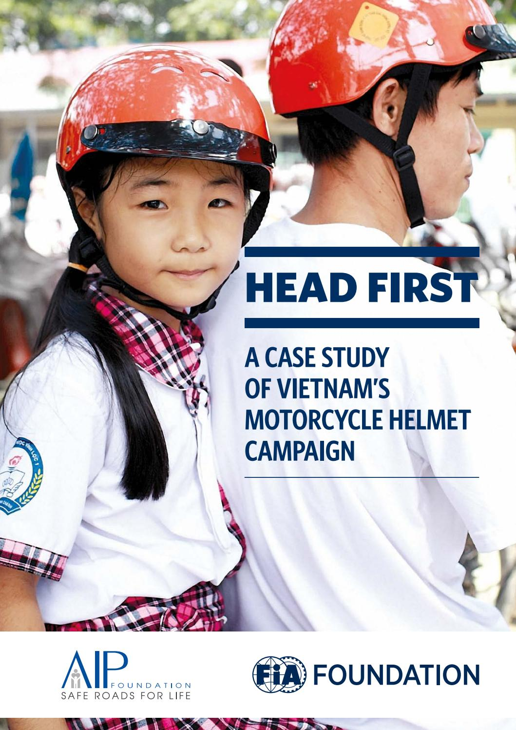 Why Should Wearing A Helmet When Motorcycling : should, wearing, helmet, motorcycling, First:, Study, Vietnam's, Motorcycle, Helmet, Campaign, Foundation, Issuu