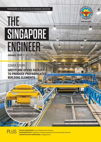 The Singapore Engineer January 2018 by The Singapore Engineer  Issuu