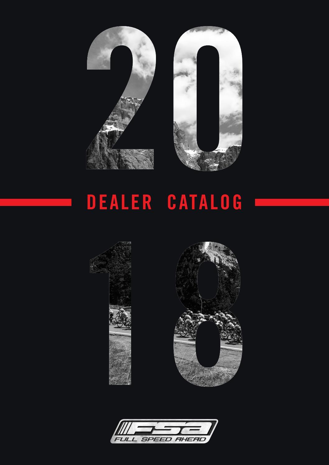 hight resolution of 2018 dealer catalog fsa vision metropolis by fsa full speed ahead issuu