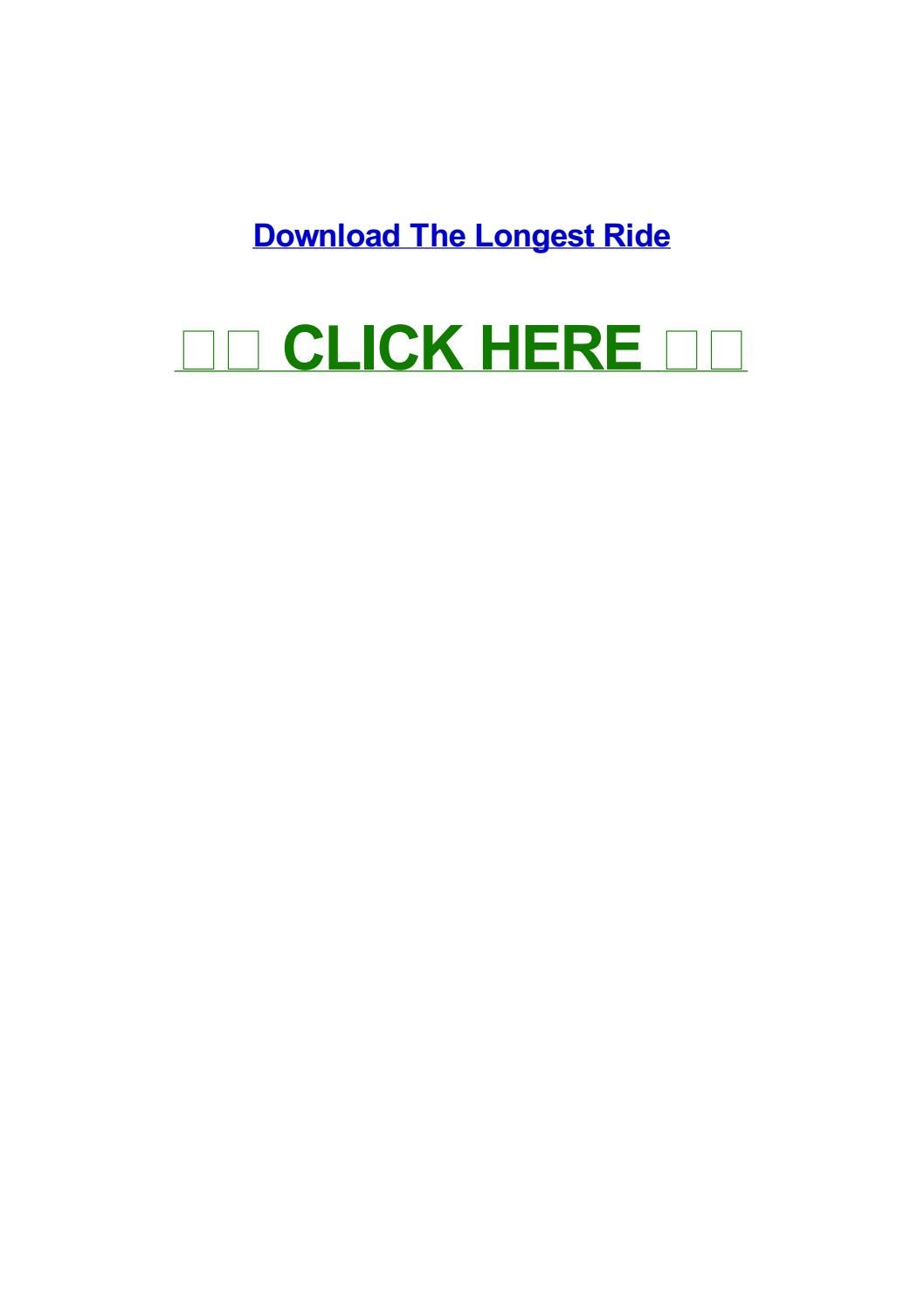 The Longest Ride Streaming Vf : longest, streaming, Longest, Veronicaulkx, Issuu