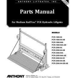 anthony medium railtrac pcr liftgate parts manual by the liftgate rh issuu com 3 way switch wiring diagram waltco lift gate switch [ 1156 x 1496 Pixel ]
