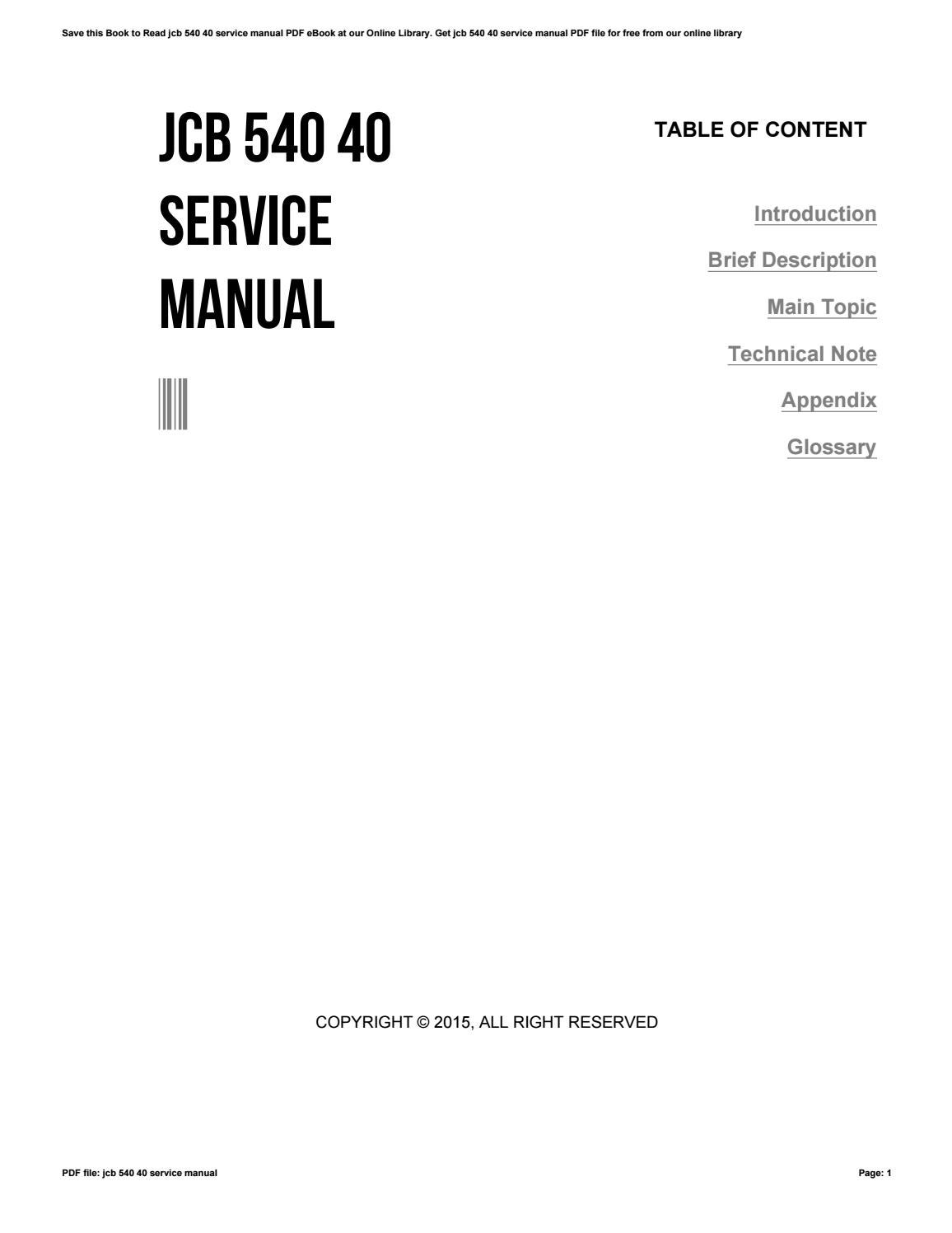 hight resolution of jcb servicemanual free download ebook rh jcb servicemanual free download ebook nitroro wheeled excavator jcb forklift parts