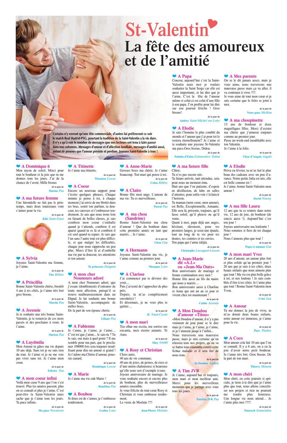 Fille De 13 Ans Qui Fait L Amoure : fille, amoure, Saint-Valentin, Messages, D'amour, Bénédicte, Mallet, Issuu