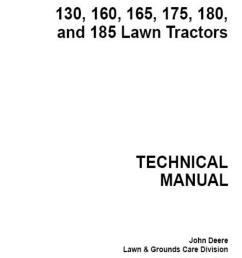 john deere 185 hydro manual by razvan alexa issuu on john deere 4100 electrical diagram  [ 1156 x 1496 Pixel ]