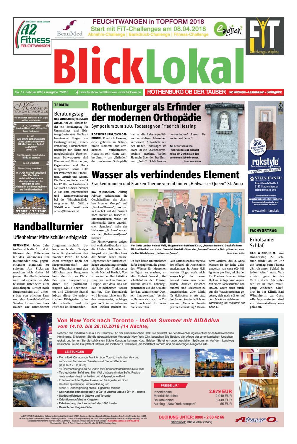 Blicklokal Rothenburg Kw 07 2018 By Blicklokal Wochenzeitung - Issuu