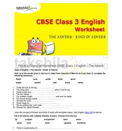 Practice grammar worksheet for cbse class 3 english the adverb by Takshila  learning   Online Classes - issuu [ 1496 x 1156 Pixel ]