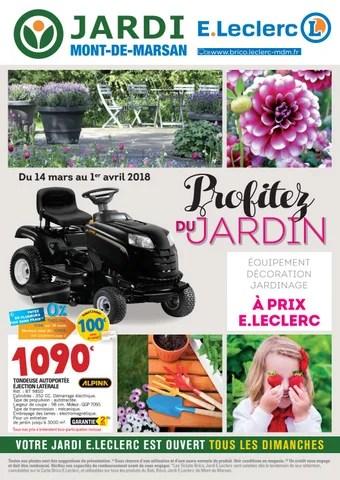 catalogue jardin jardi e leclerc by