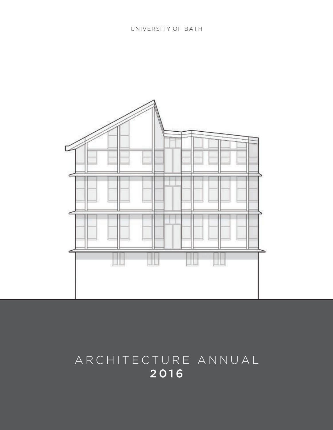 hight resolution of university of bath architecture annual 2016 by faculty of engineering design issuu