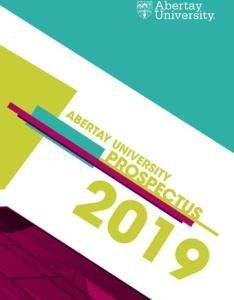 Page also prospectus by abertay university issuu rh