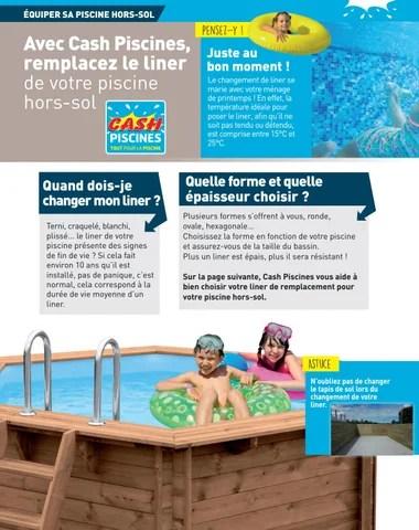 jacuzzi cash piscine enredada