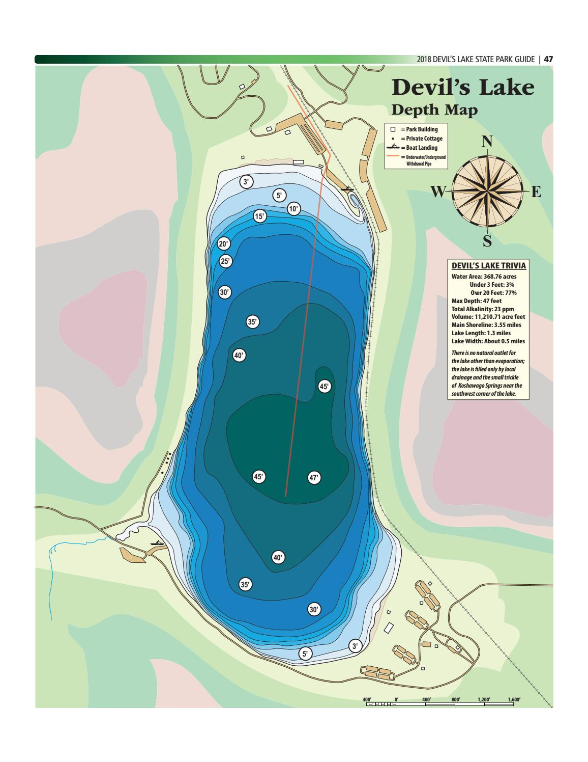 Devils Lake State Park Map : devils, state, Devils, Guide, Final, Madison.com, Issuu