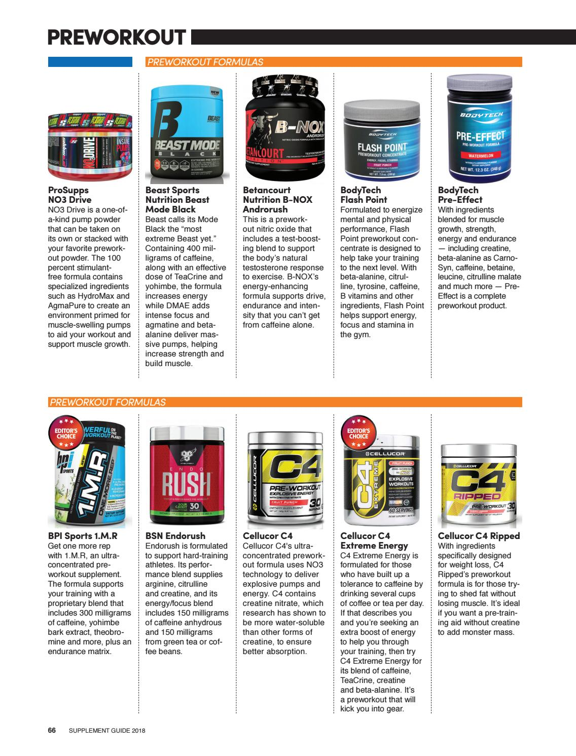 Flashpoint Pre Workout : flashpoint, workout, Supplement, Guide, Muscle, Performance, Issuu