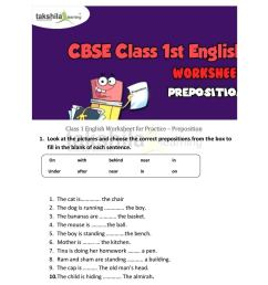 Class 1 english worksheet for practice preposition by Takshila learning    Online Classes - issuu [ 1496 x 1156 Pixel ]