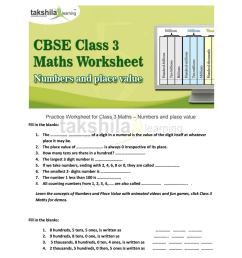 Cbse class 3 maths worksheet numbers and place value by Takshila learning    Online Classes - issuu [ 1496 x 1156 Pixel ]