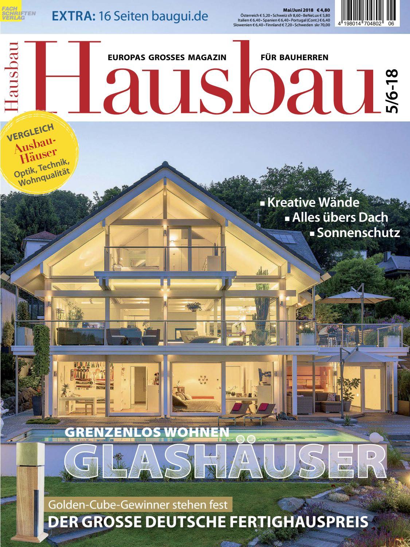 Hausbau 5/6-2018 By Fachschriften Verlag - Issuu