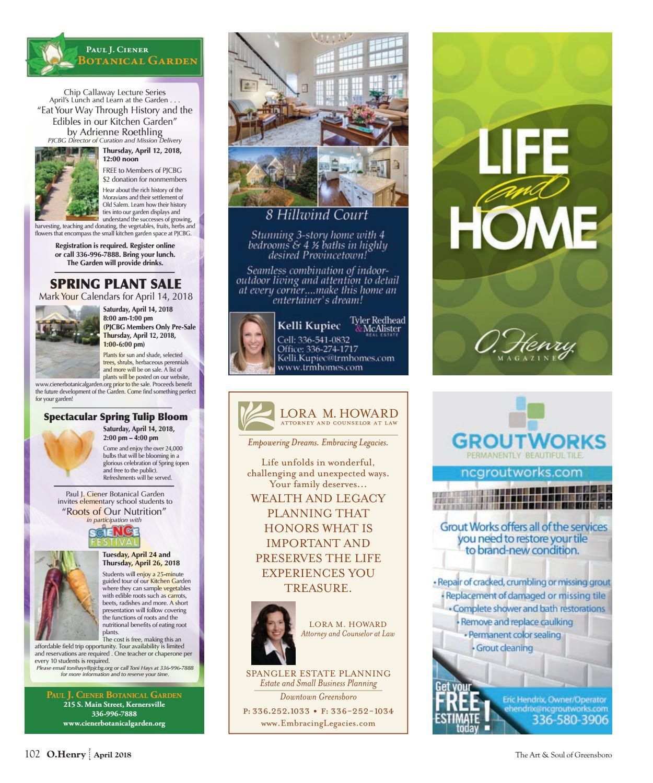Life Dreams And Legacies : dreams, legacies, O.Henry, April, Magazine, Issuu