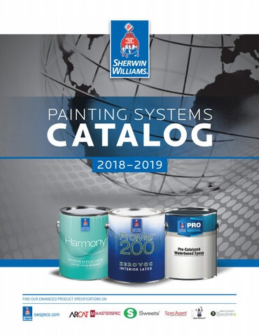 SherwinWilliams Painting Systems Catalog 2018 by Sherwin