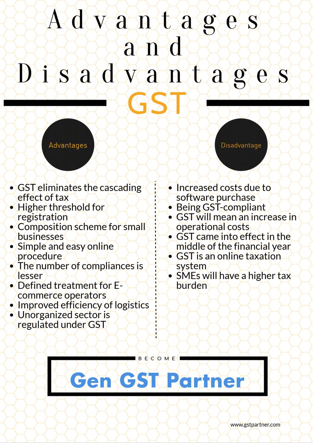 GST Benefits: Advantage and Disadvantage of GST by Rajeev