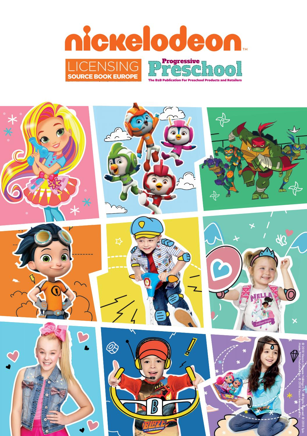 Nickelodeon Viewership Statistics : nickelodeon, viewership, statistics, Nickelodeon, Supplement, Licensing, Source, Book/Progressive, Preschool, Media, Group, Issuu