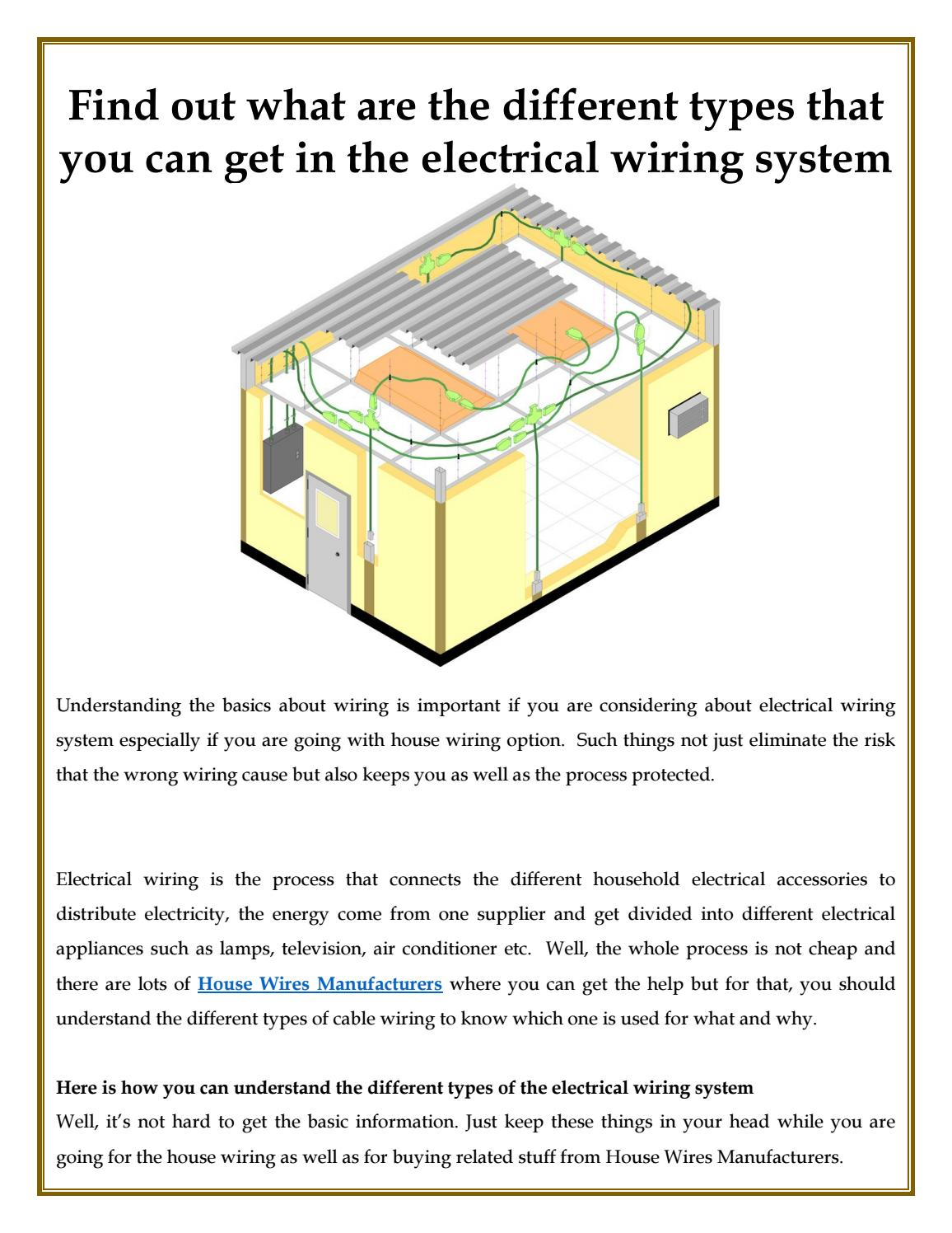 hight resolution of different types that you can get in the electrical wiring system by ultracab issuu