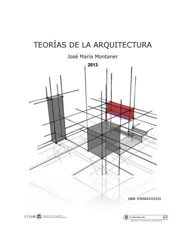Teorias de la arquitectura by Miguel Angel Brañez Casas