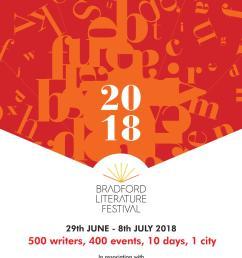 bradford literature festival 2018 programme [ 1055 x 1497 Pixel ]