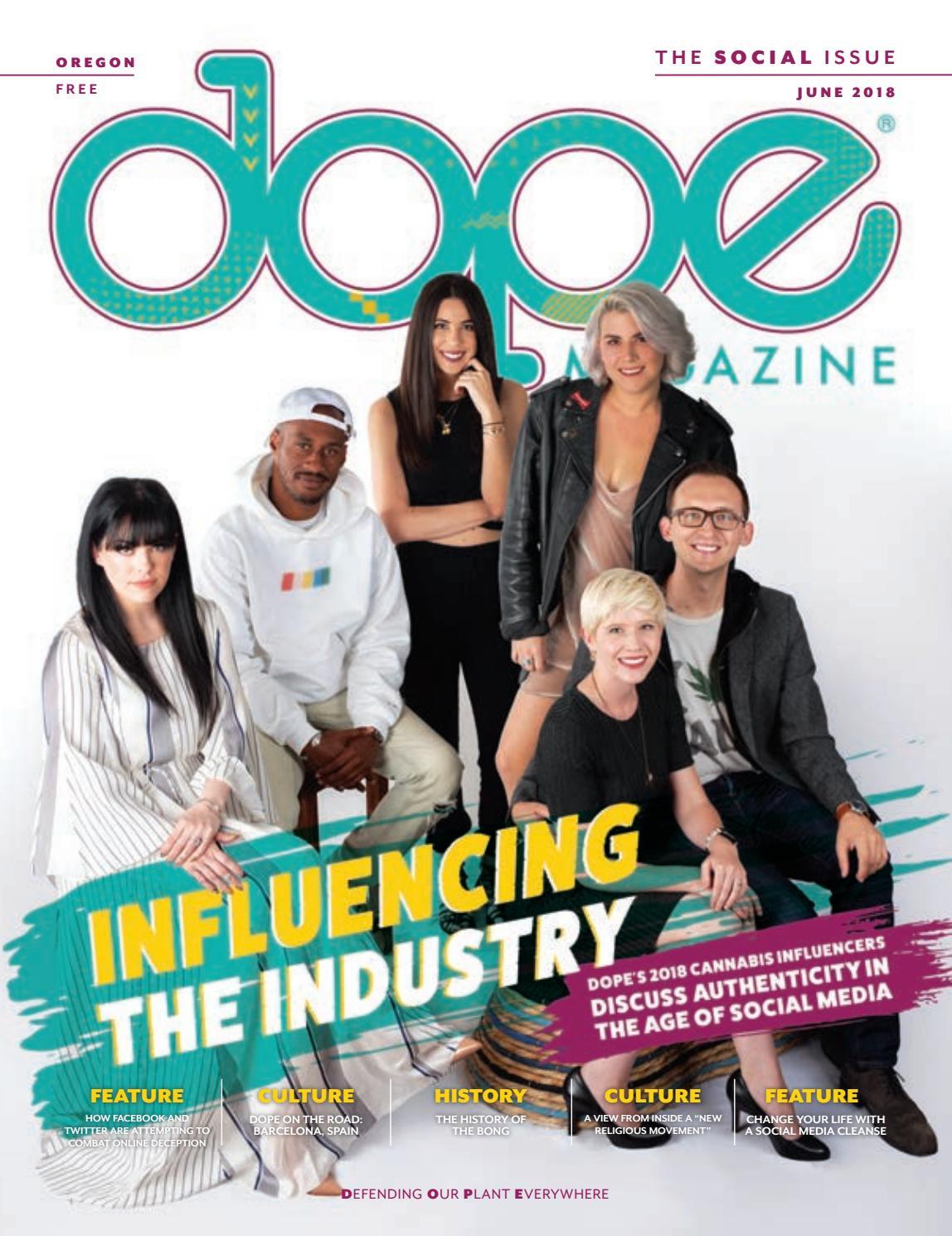 dope magazine oregon the