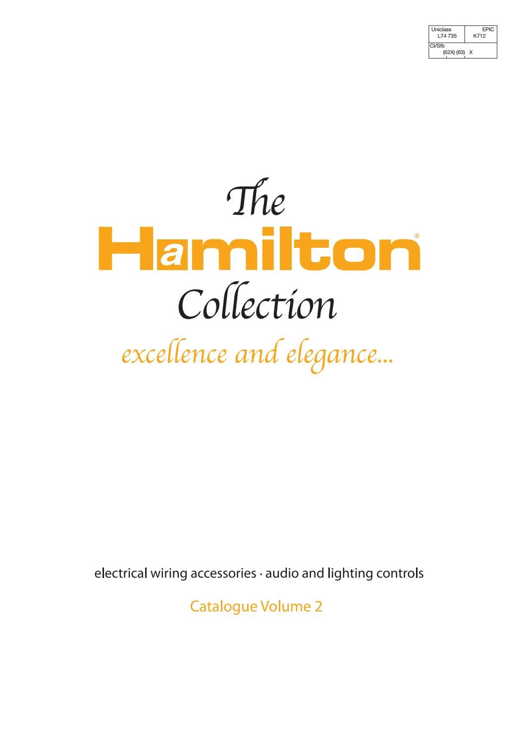 hight resolution of hamilton
