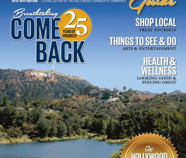 The Hollywood Community Guide Business Profile 2018 19 By Chamber Marketing Partners Inc Issuu