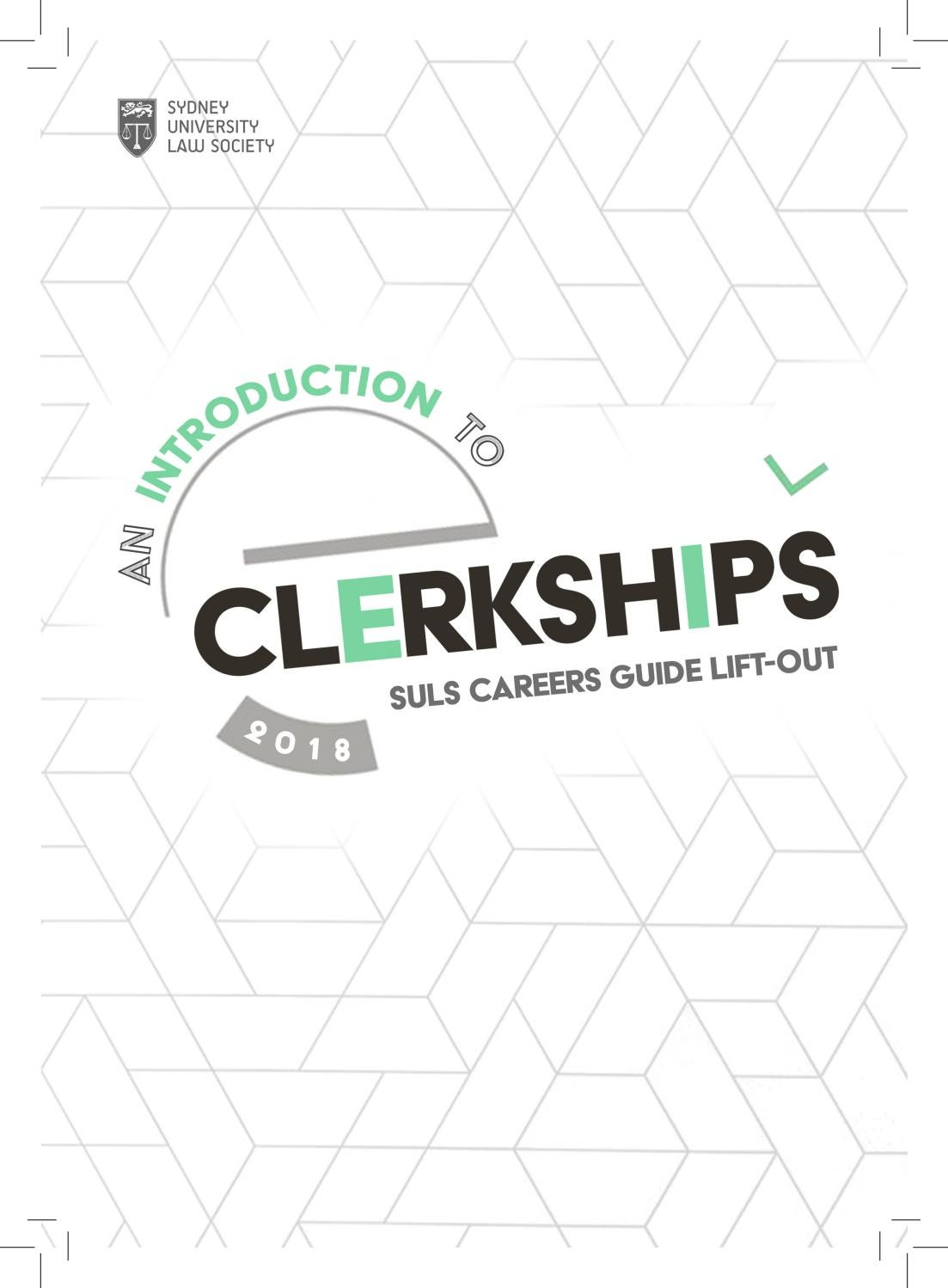 An Introduction to Clerkships 2018 by Sydney University