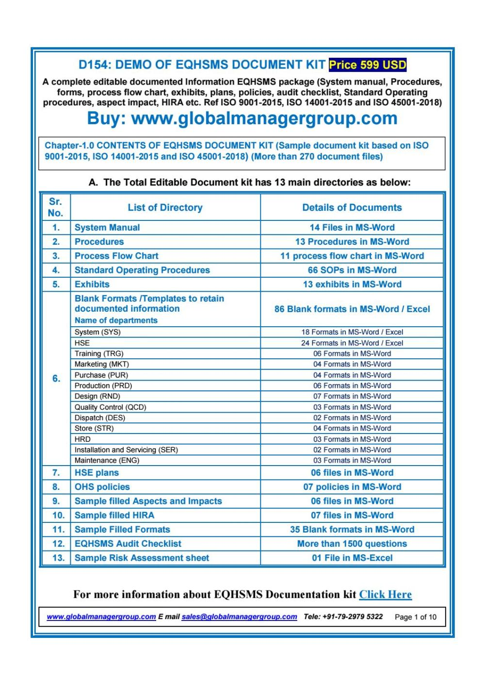 medium resolution of eqhsms documents with iso 9001 2015 iso 14001 2015 iso 45001 2018 requirements by global manager group issuu