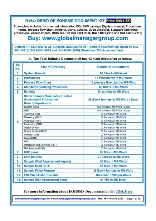 small resolution of eqhsms documents with iso 9001 2015 iso 14001 2015 iso 45001 2018 requirements by global manager group issuu