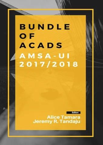 Bundle of Acads 17/18 by AMSA-UI - issuu