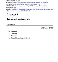 Solutions manual for financial accounting 11th edition by harrison ibsn  9780134436135 by ftgaec - issuu [ 1496 x 1156 Pixel ]