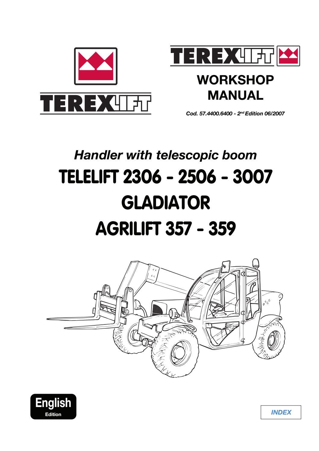 TEREX TELELIFT 2506 GLADIATOR AGRILIFT TELESCOPIC HANDLER