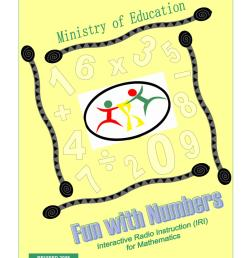 IRI Fun with Numbers Worksheets - Grade 1 - Term 1 by Ministry of Education  Guyana - issuu [ 1496 x 1156 Pixel ]