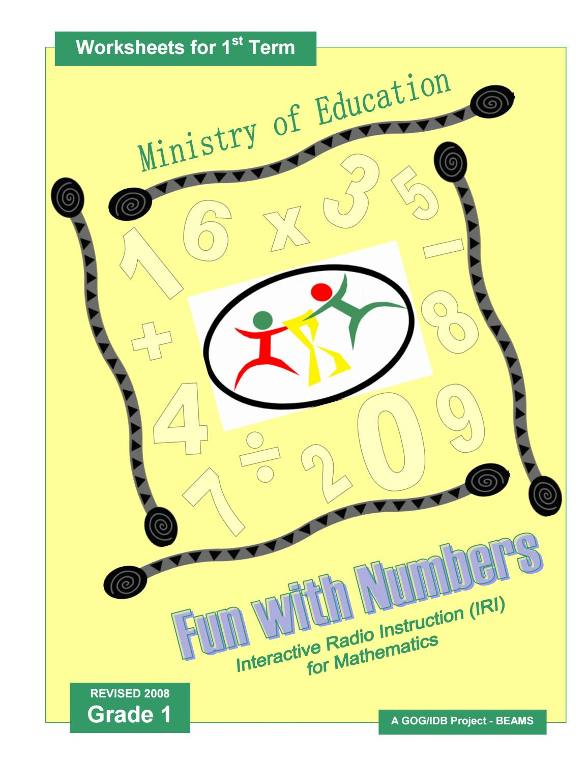 hight resolution of IRI Fun with Numbers Worksheets - Grade 1 - Term 1 by Ministry of Education  Guyana - issuu