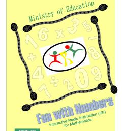 IRI Fun with Numbers Worksheets - Grade 1 - Term 2 by Ministry of Education  Guyana - issuu [ 1496 x 1156 Pixel ]