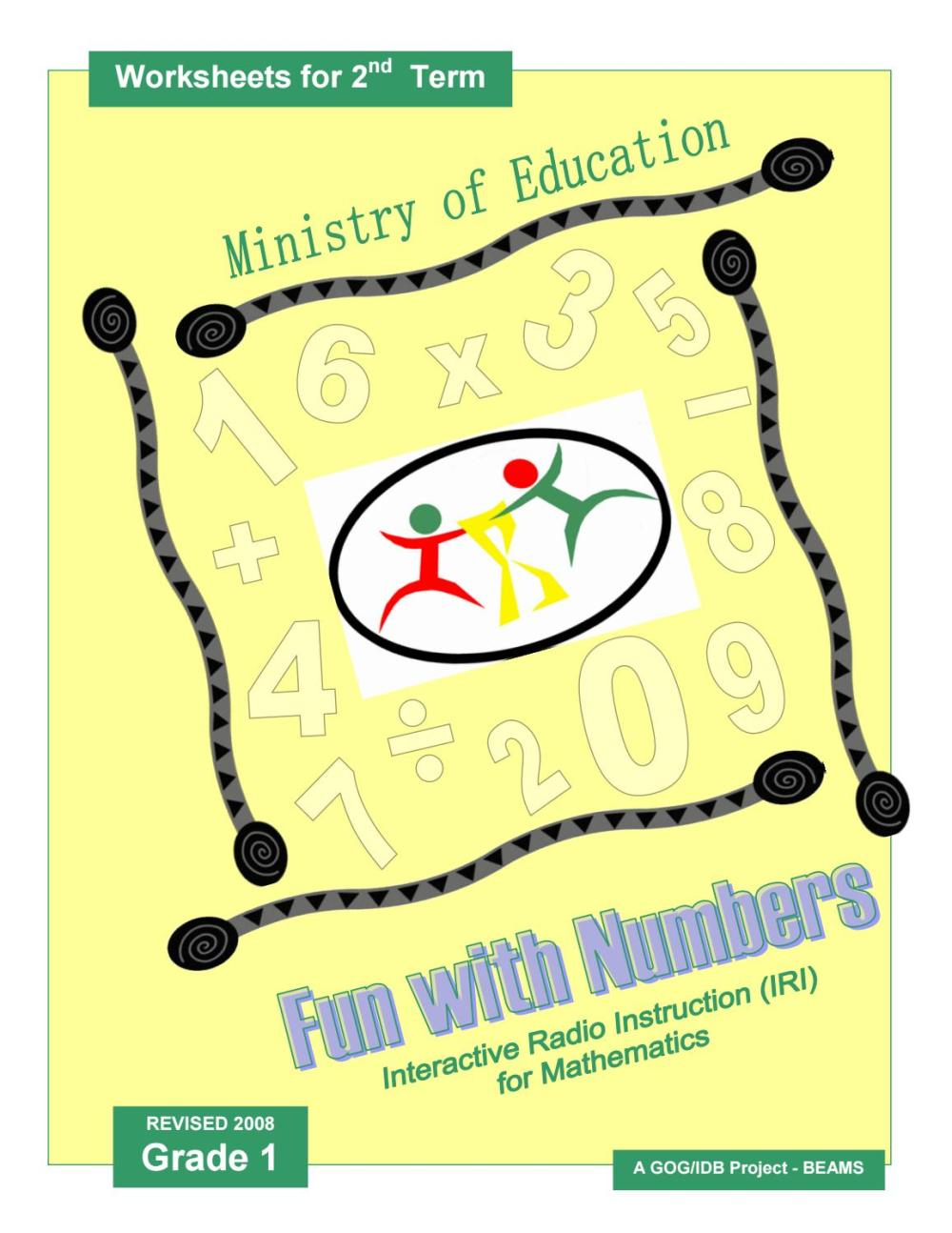 medium resolution of IRI Fun with Numbers Worksheets - Grade 1 - Term 2 by Ministry of Education  Guyana - issuu