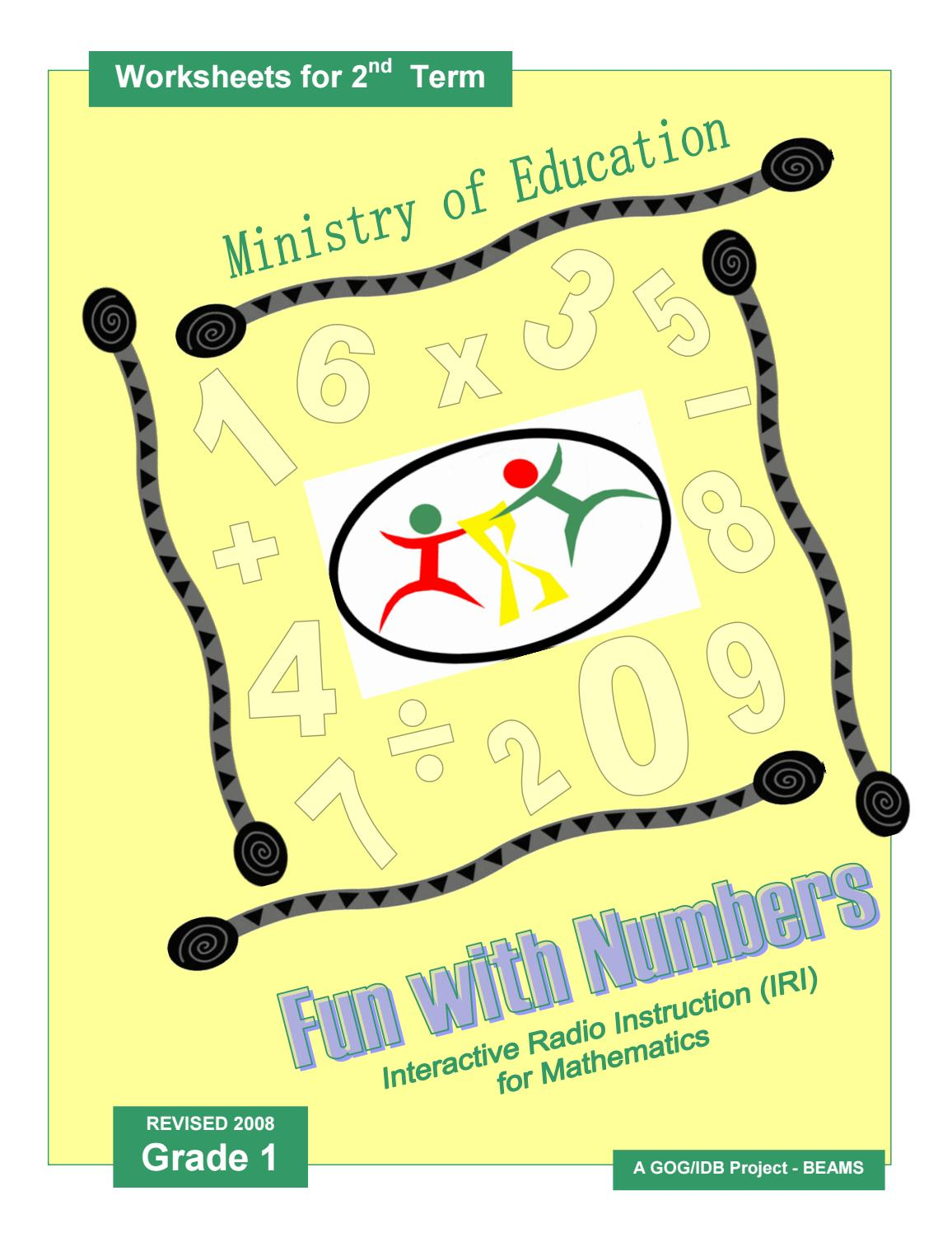 hight resolution of IRI Fun with Numbers Worksheets - Grade 1 - Term 2 by Ministry of Education  Guyana - issuu