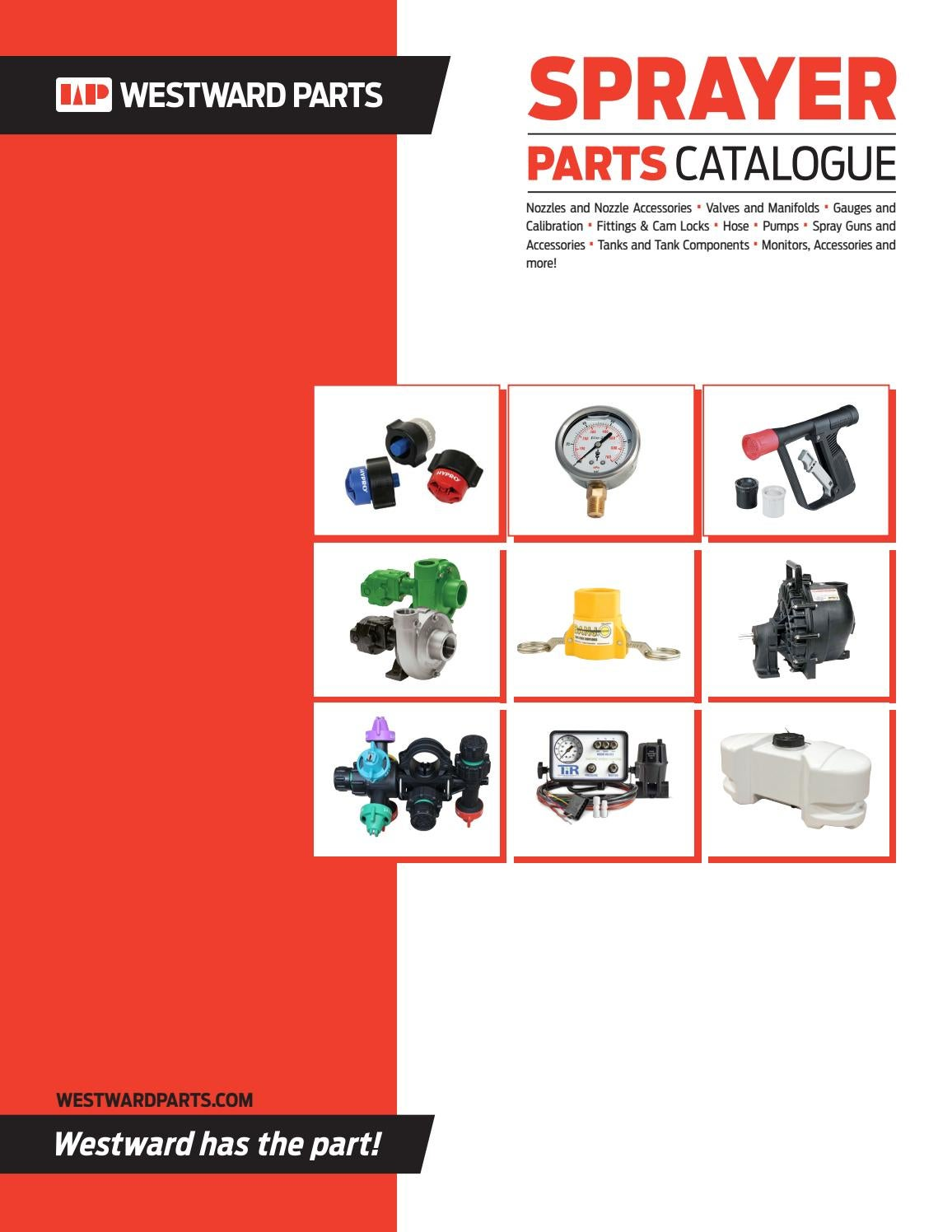 hight resolution of section 1 nozzles and nozzle accessories hd westward parts sprayer parts catalogue by westwardparts issuu