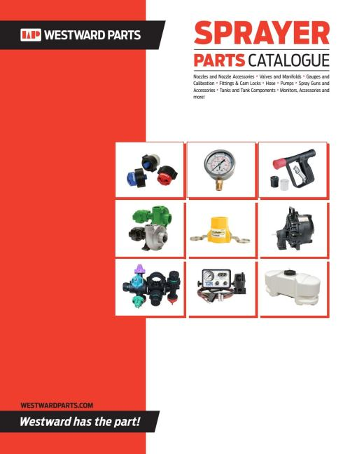 small resolution of section 1 nozzles and nozzle accessories hd westward parts sprayer parts catalogue by westwardparts issuu