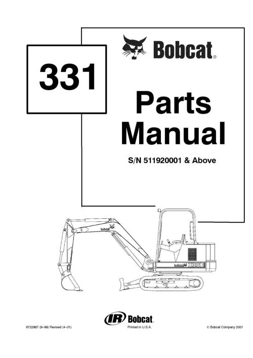 small resolution of bobcat 331 parts diagram wiring diagram structurebobcat 331 parts diagram wiring diagram bobcat 331 excavator parts
