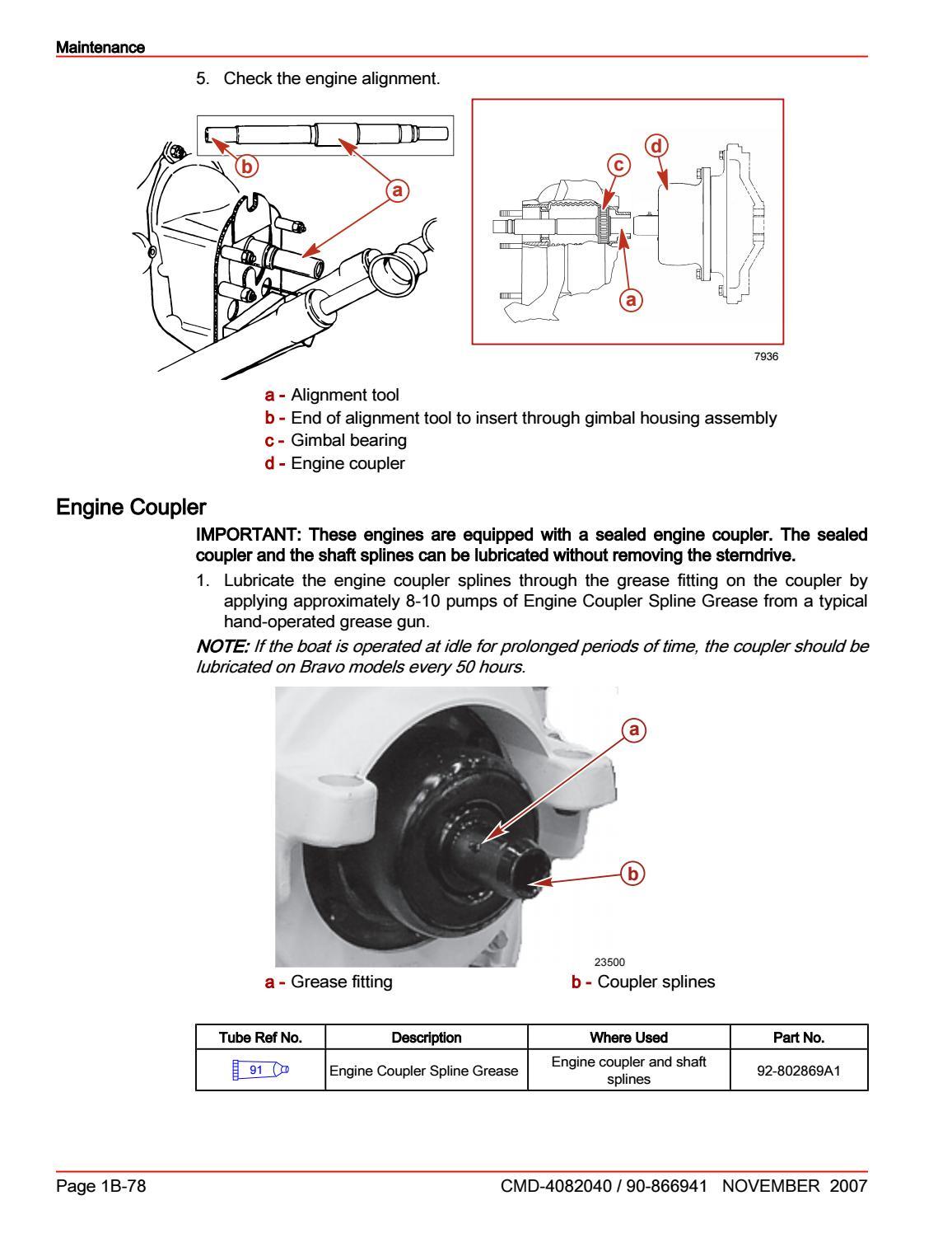 hight resolution of cummins mercruiser qsd 4 2 350 hp diesel engine service repair manual sn 88401000 and above