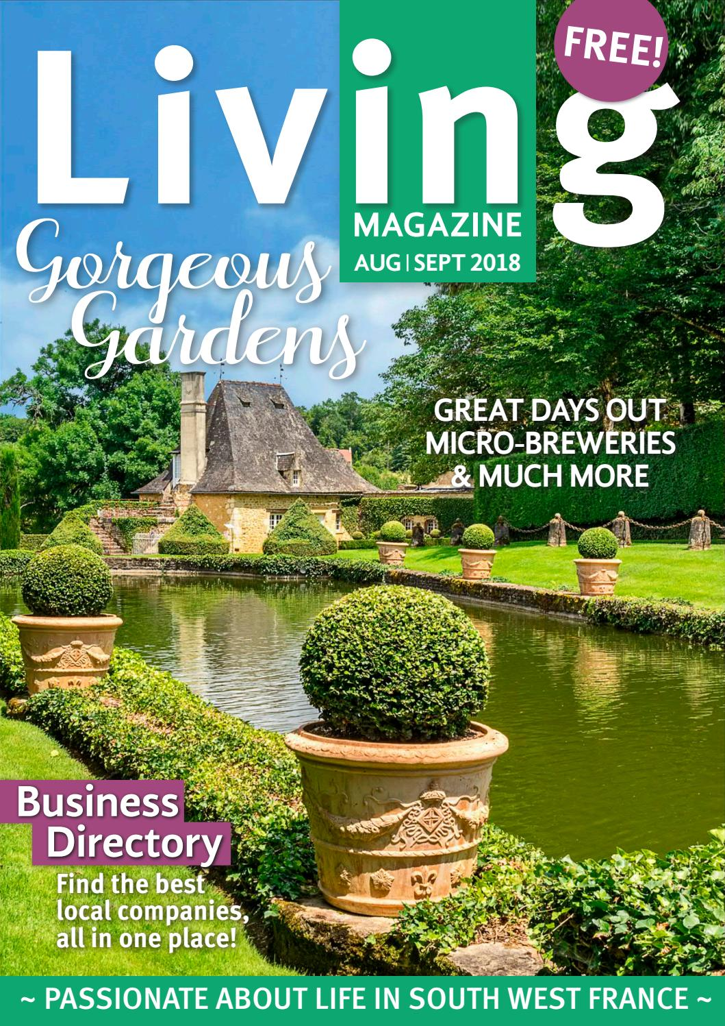 Le Gendre Ideal Wil Aime : gendre, ideal, Living, Magazine, Aug/Sept, Issuu