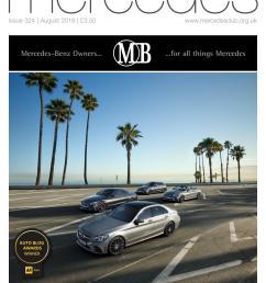 mercedes owner magazine august 2018 [ 1059 x 1497 Pixel ]