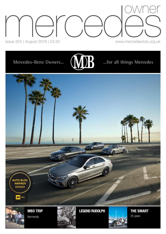 medium resolution of mercedes owner magazine august 2018
