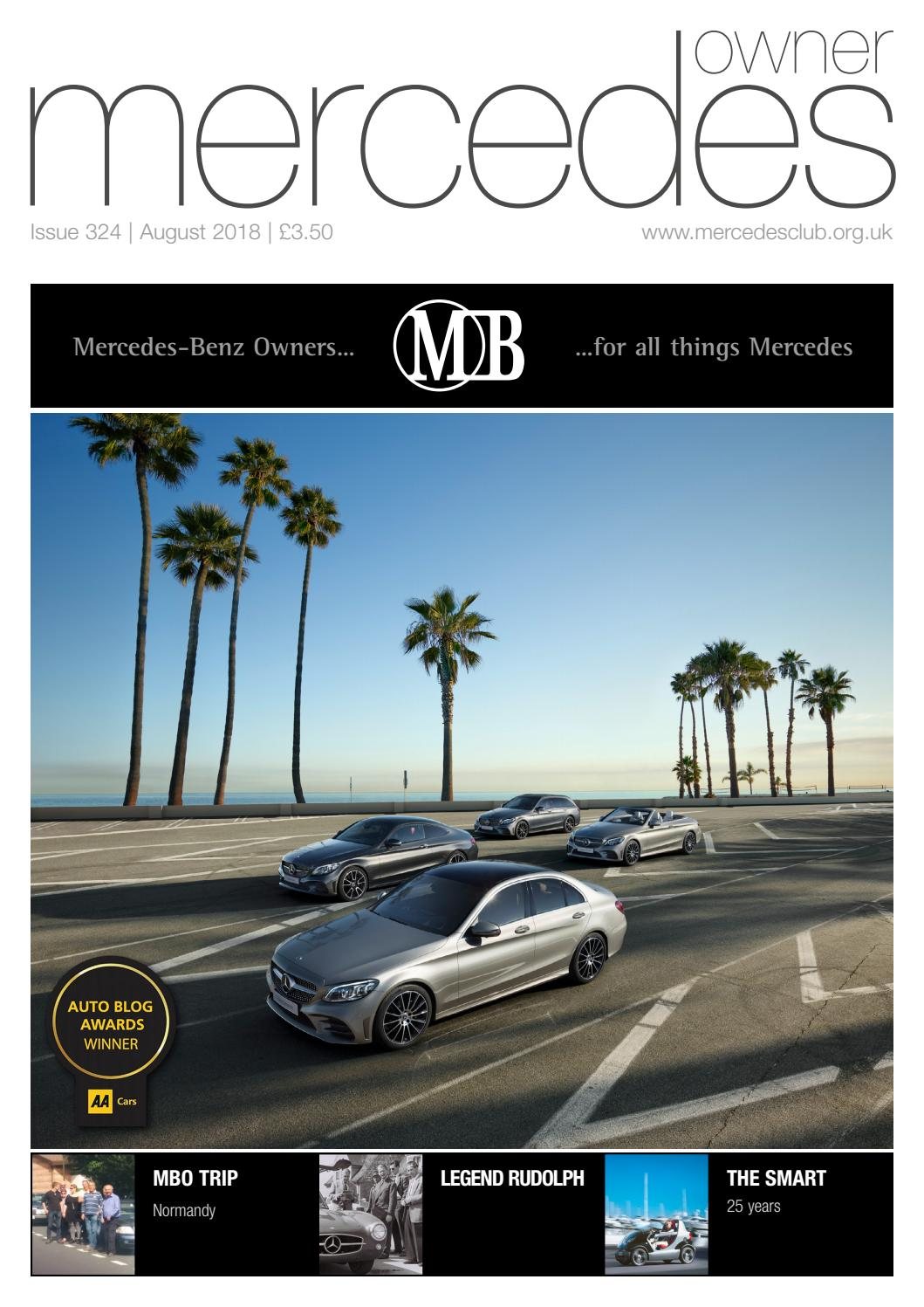 hight resolution of mercedes owner magazine august 2018