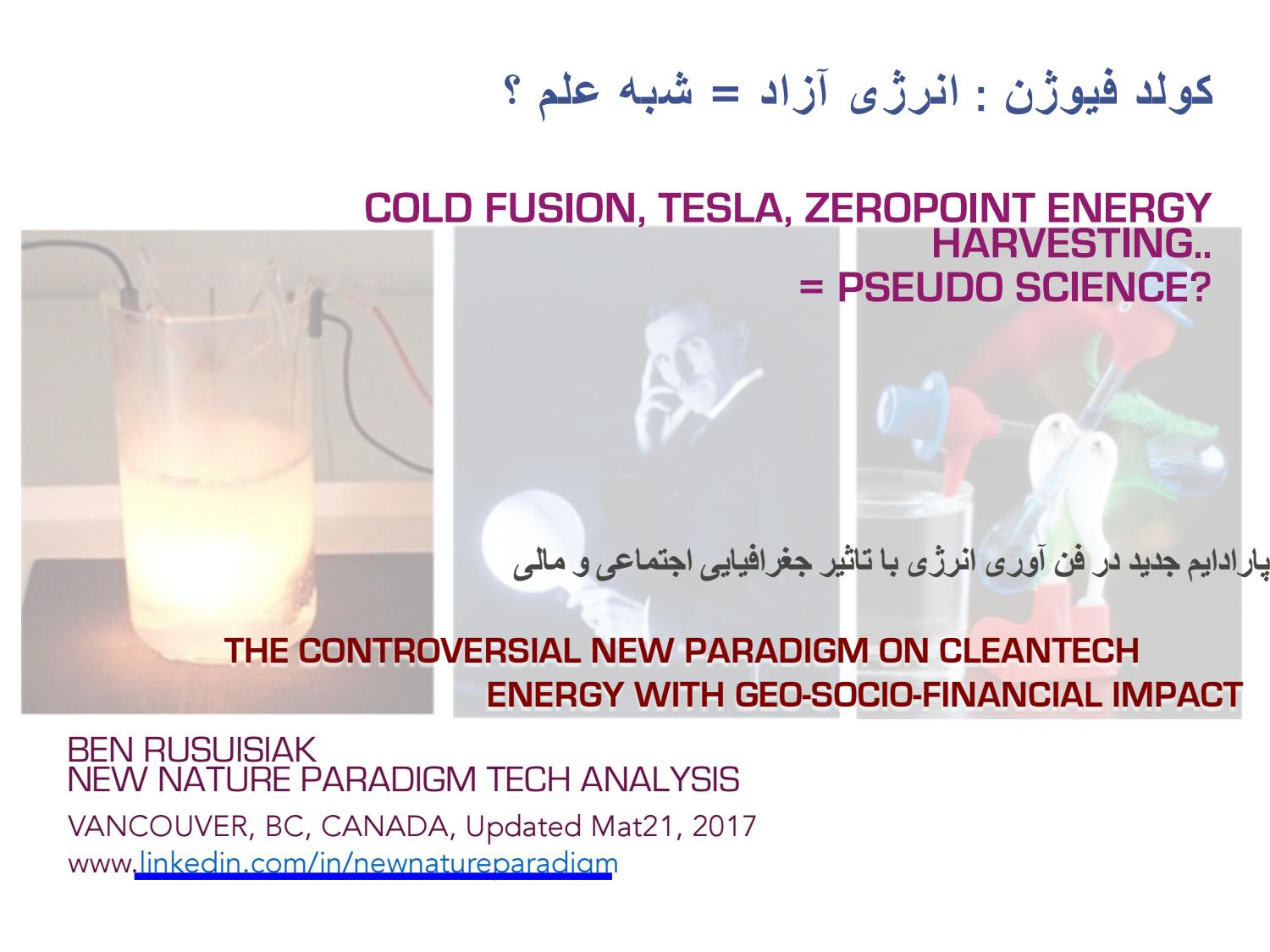 hight resolution of  free energy tesla cold fusion pseudo science by new nature paradigm issuu
