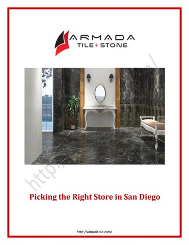 tile store by armada tile san diego issuu